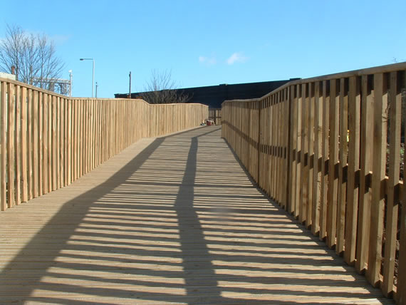 Softwood Bridge in Leicestershire