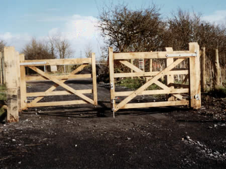 Double bar gates